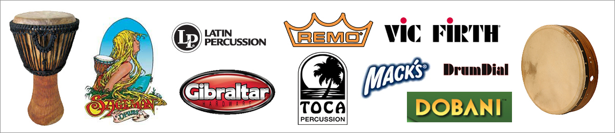 Percussion Brands Logos