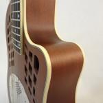 National Resonator Wood Body ResoRocket Guitar Side Detail