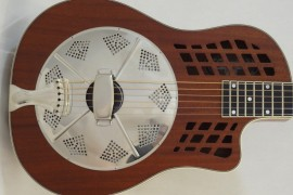 National Resonator Wood Body ResoRocket Guitar Main View