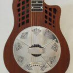 National Resonator Wood Body ResoRocket Guitar Main View