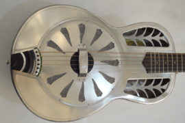 John Morton Resonator Parlor guitar