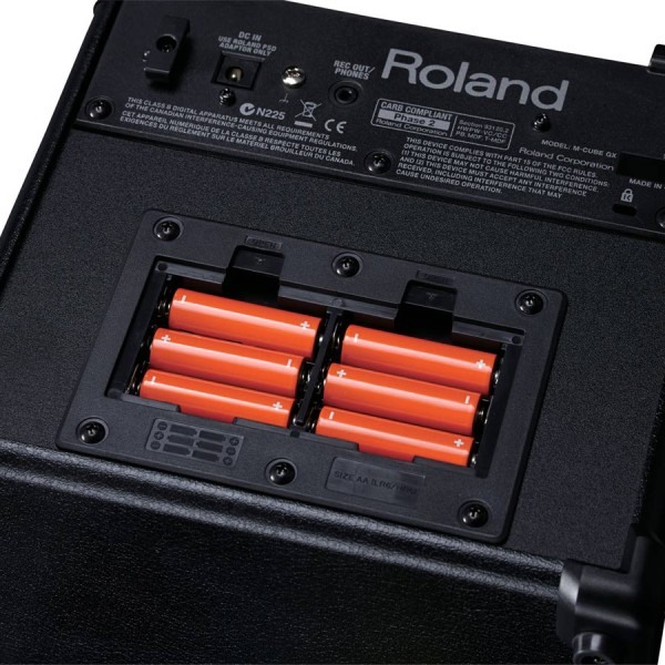 Roland MICROCUBE GX Battery Powered Amplifier 5