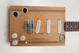 Front Porch Cigar Box Guitar 6-String Front View