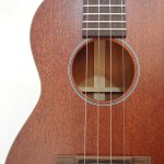 C.F. Martin 2 Tenor Ukulele Mahogany left top view