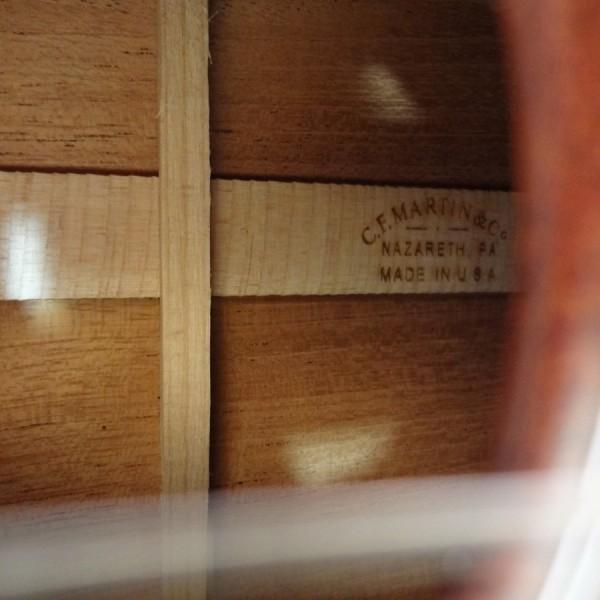 C.F. Martin 2 Tenor Ukulele Mahogany inside view