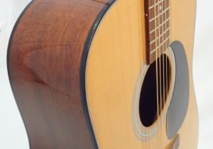 C.F. Martin D-18 Acoustic Guitar Front Partial View