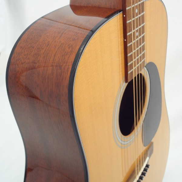 C.F. Martin D-18 Acoustic Guitar Front Partial View