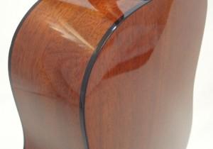 C.F. Martin D-18 Acoustic Guitar Back Partial Side View