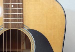 C.F. Martin D-18 Acoustic Guitar Soundhole View