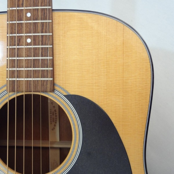 C.F. Martin D-18 Acoustic Guitar Soundhole View