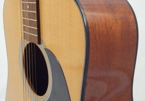 C.F. Martin D-18 Acoustic Guitar Side View