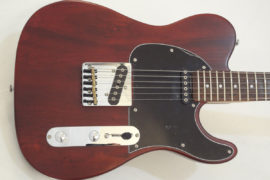 G&L Electric Guitar ASAT Walnut Front Body View