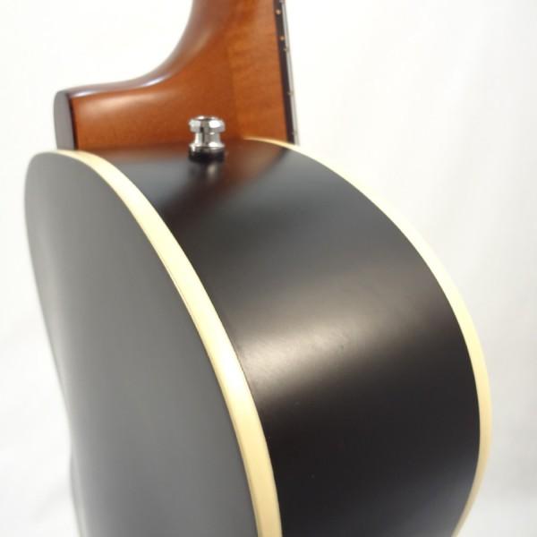 Godin Kingpin 5th Avenue Black Archtop Guitar