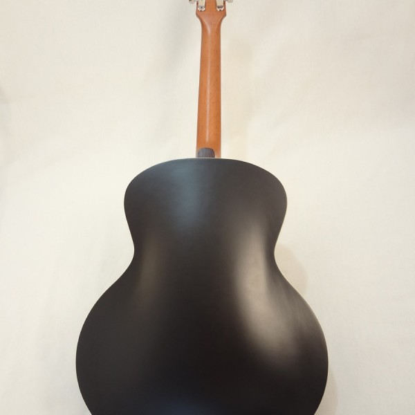 Godin Kingpin 5th Avenue Black Archtop Guitar Full Back View