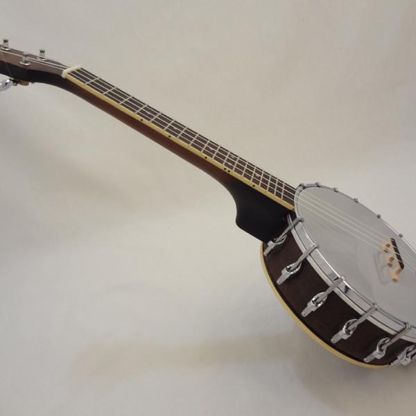 Goldtone BUC Banjo Ukulele Angled View