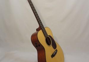 Martin 000-18E Retro Short Scale Acousitc Guitar Side View Angled