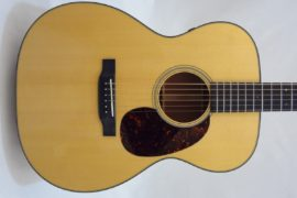 Martin 000-18E Retro Short Scale Acousitc Guitar Front View
