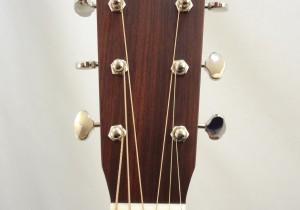 Martin 000-18E Retro Short Scale Acousitc Guitar Headstock