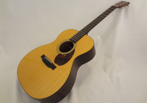 C.F. Martin OM-21 Acoustic Guitar Angled Front View