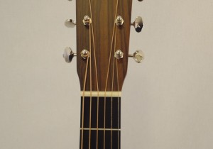 C.F. Martin OM-21 Acoustic Guitar Headstock View