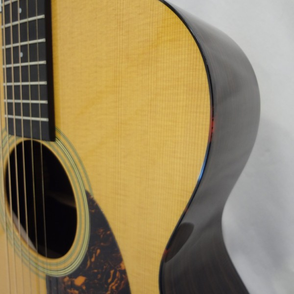 C.F. Martin OM-21 Acoustic Guitar Front Detail View