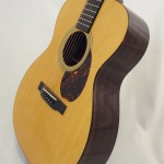C.F. Martin OM-21 Acoustic Guitar Side View