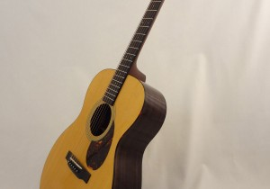 C.F. Martin OM-21 Acoustic Guitar Side Angled View