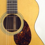 C.F. Martin OM-21 Acoustic Guitar Pickguard View