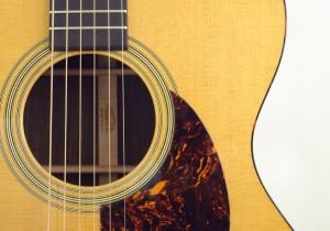 C.F. Martin OM-21 Acoustic Guitar Pickguard View