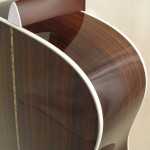 C.F. Martin OM-21 Acoustic Guitar Detail Back View