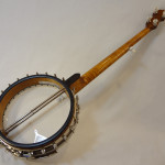 Deering Vega 2 Tubaphone Banjo Back angled