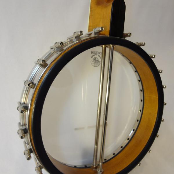 Deering Vega 2 Tubaphone Banjo Neck Heel View