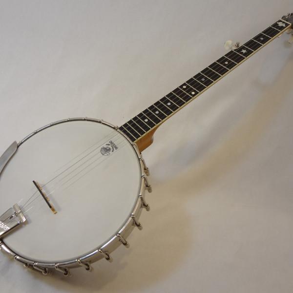 Deering Vega 2 Tubaphone Banjo Front Angled