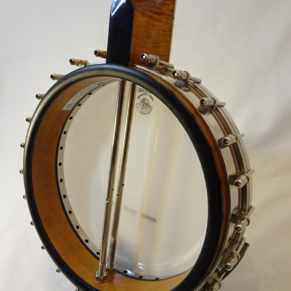 Deering Vega 2 Tubaphone Banjo Angled Tone Ring View