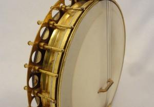 Paramount Vintage Banjo 1927 Hardware View