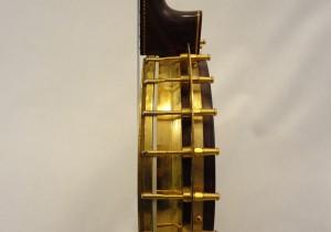 Paramount Vintage Banjo 1927 Side Lug View