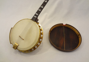 Paramount Vintage Banjo 1927 with Resonator Inside View