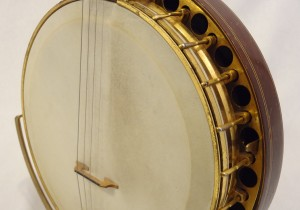 Paramount Vintage Banjo 1927 Head Side View