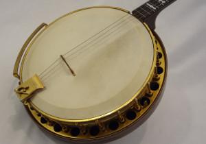 Paramount Vintage Banjo 1927 front angled view