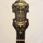 Paramount Vintage Banjo 1927 Headstock Front View