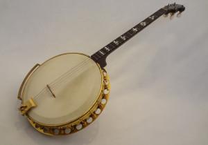 Paramount Vintage Banjo 1927 Angled Front View 2