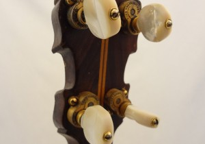 Paramount Vintage Banjo 1927 Headstock Back View 2
