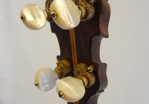 Paramount Vintage Banjo 1927 Headstock Back View