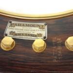 Paramount Vintage Banjo 1927 Inside Rim Badge View