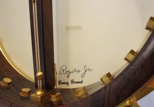 Paramount Vintage Banjo 1927 Banjo Head Inside View