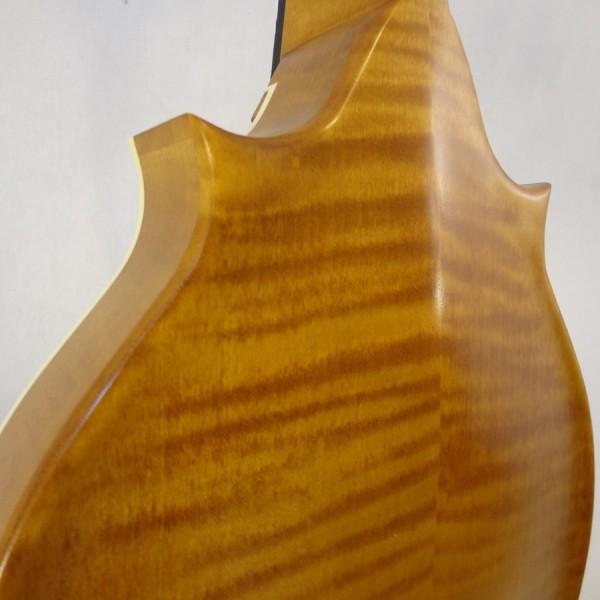Weber 2 Point Bitterroot Mandolin Back Detail