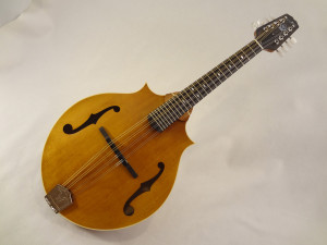 Weber 2 Point Bitterroot Mandolin Full Front View Angled