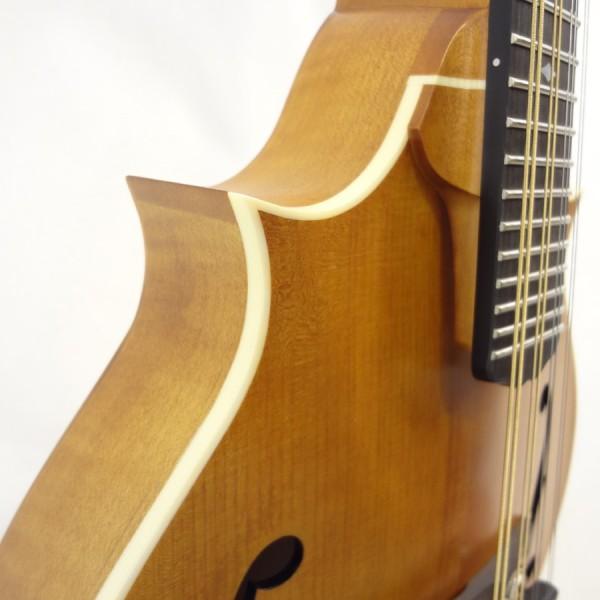 Weber 2 Point Bitterroot Mandolin Binding Detail