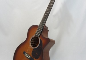 C.F. Martin GPCPA4 Shaded Acoustic Guitar Full Front Angled View