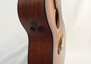 C.F. Martin GPCPA4 Shaded Acoustic Guitar Angled Pickup View